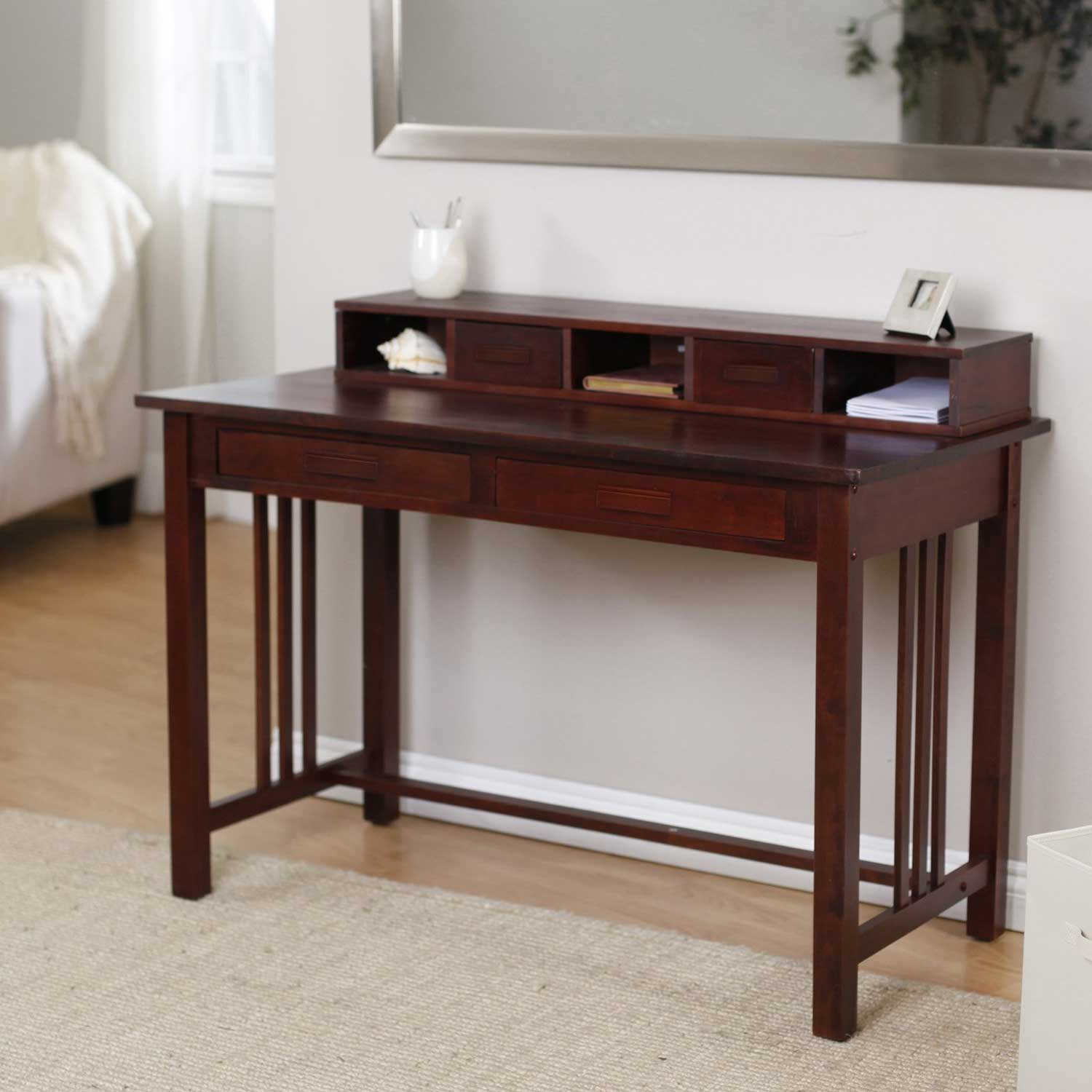 Woodwork Writing Desk With Hutch Plans PDF Plans